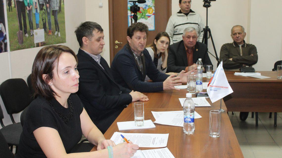 Активисты ОНФ в Республике Алтай провели экспертное совещание по вопросам вывоза мусора