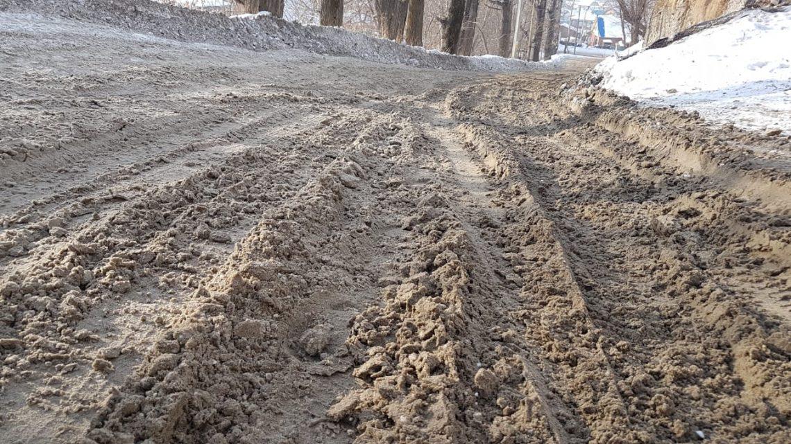 Активисты ОНФ провели в Горно-Алтайске мониторинг уборки улиц от снега