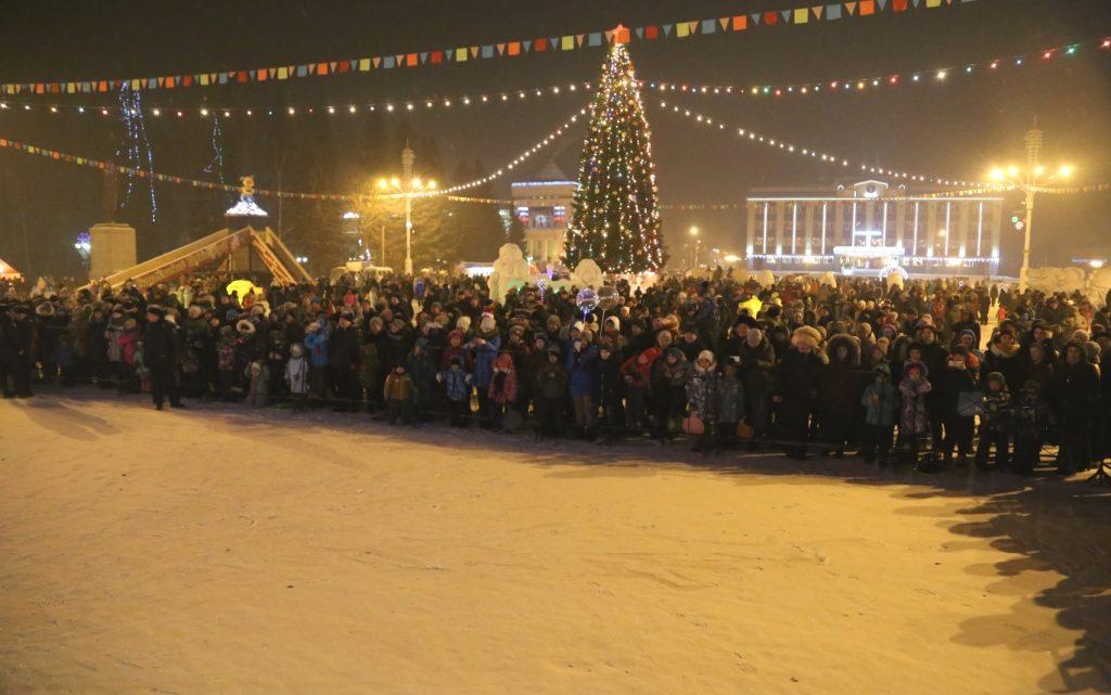 Более 40 тысяч человек приняли участие в новогодних праздниках в Республике Алтай