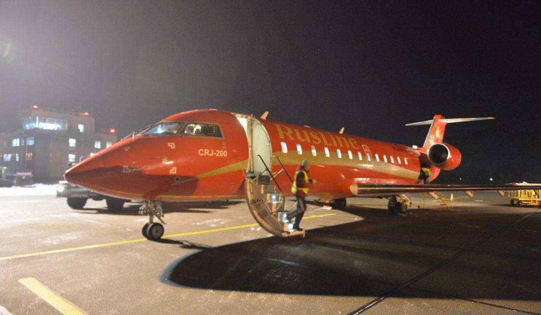 14 января в Горно-Алтайск прибыл первый борт из Екатеринбурга