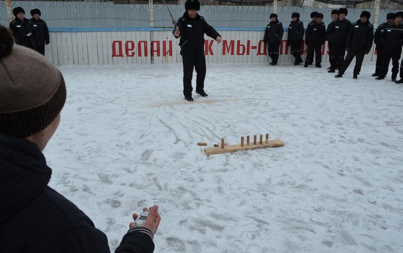 В колонии строгого режима в Республике Алтай прошли соревнования по национальным видам спорта