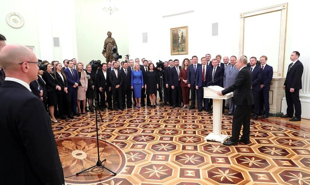 Олег Хорохордин принял участие во встрече Президента РФ с выпускниками программы развития резерва управленцев