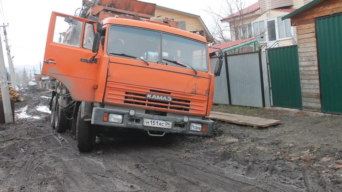 Активисты ОНФ призвали власти Горно-Алтайска отремонтировать проблемные участки дорог