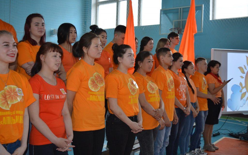 В Республике Алтай проходит школа вожатского мастерства