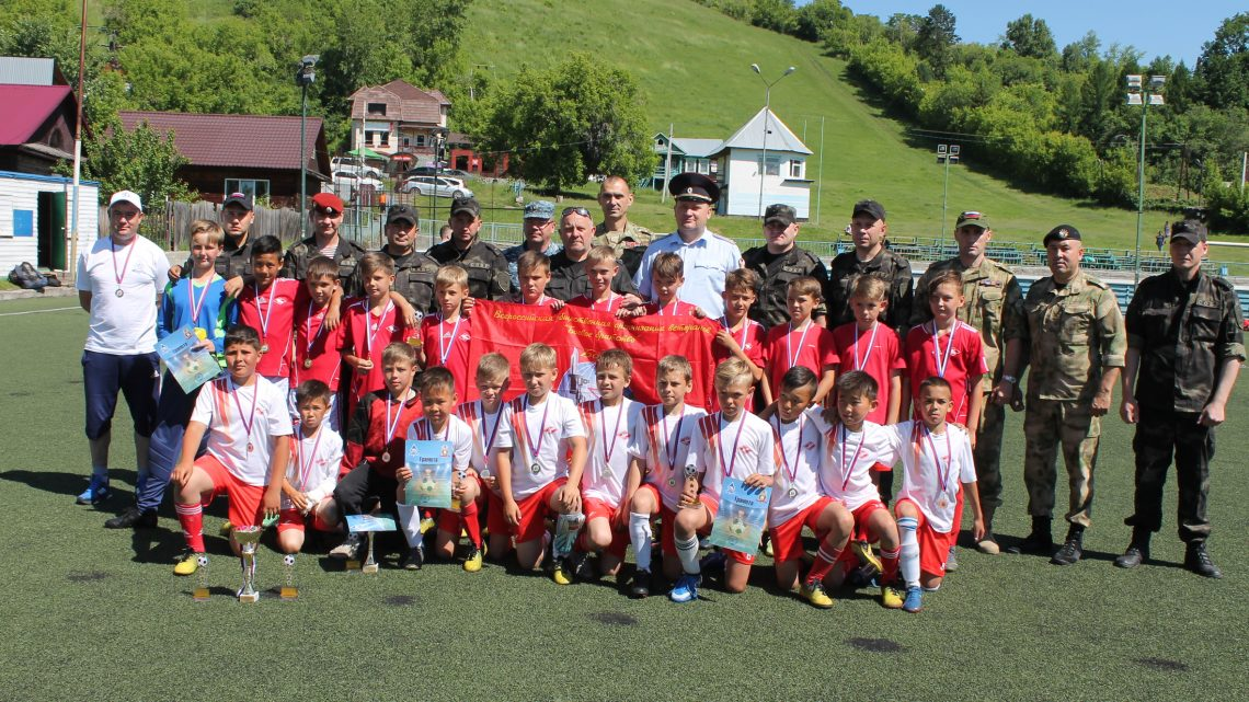 В Горно-Алтайске прошёл футбольный турнир памяти погибших сотрудников СОБР