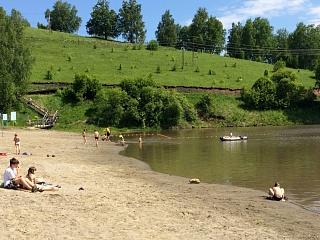 В Горно-Алтайске открыт купальный сезон