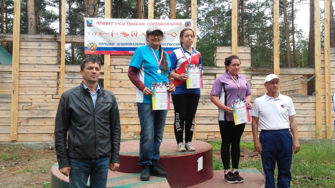 Команда из Республики Алтай сыграла в городки