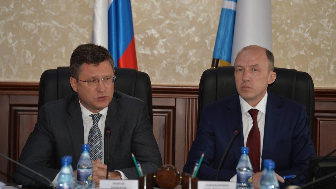 Александр Новак и Олег Хорохордин обсудили механизмы снижения энерготарифов