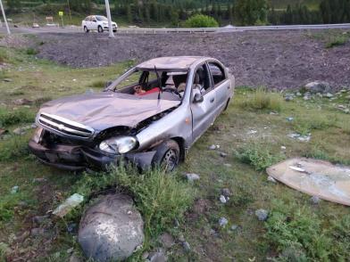Житель Кемеровской области попал в ДТП в Улаганском районе