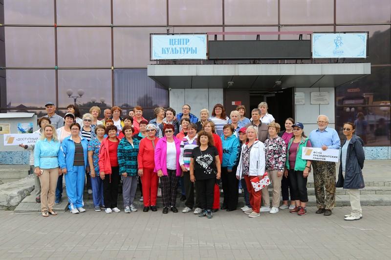 Пенсионеры Маймы отправились покорять Алтай. Фоторепортаж