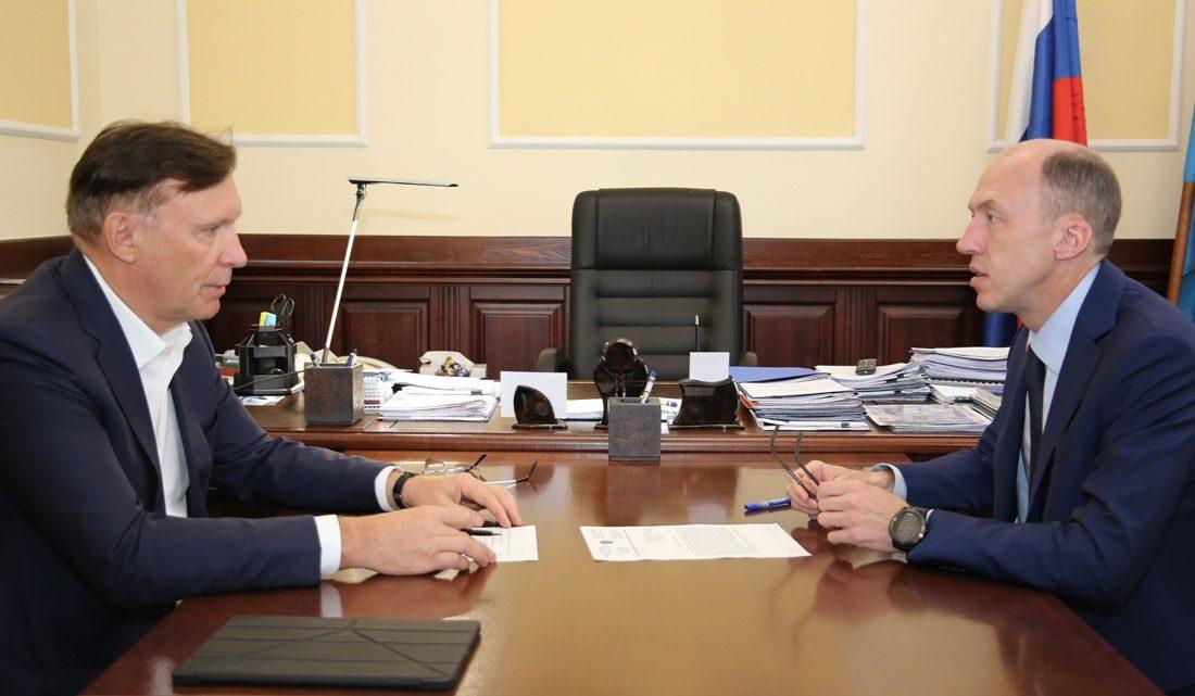 Олег Хорохордин встретился с Сергеем Когогиным