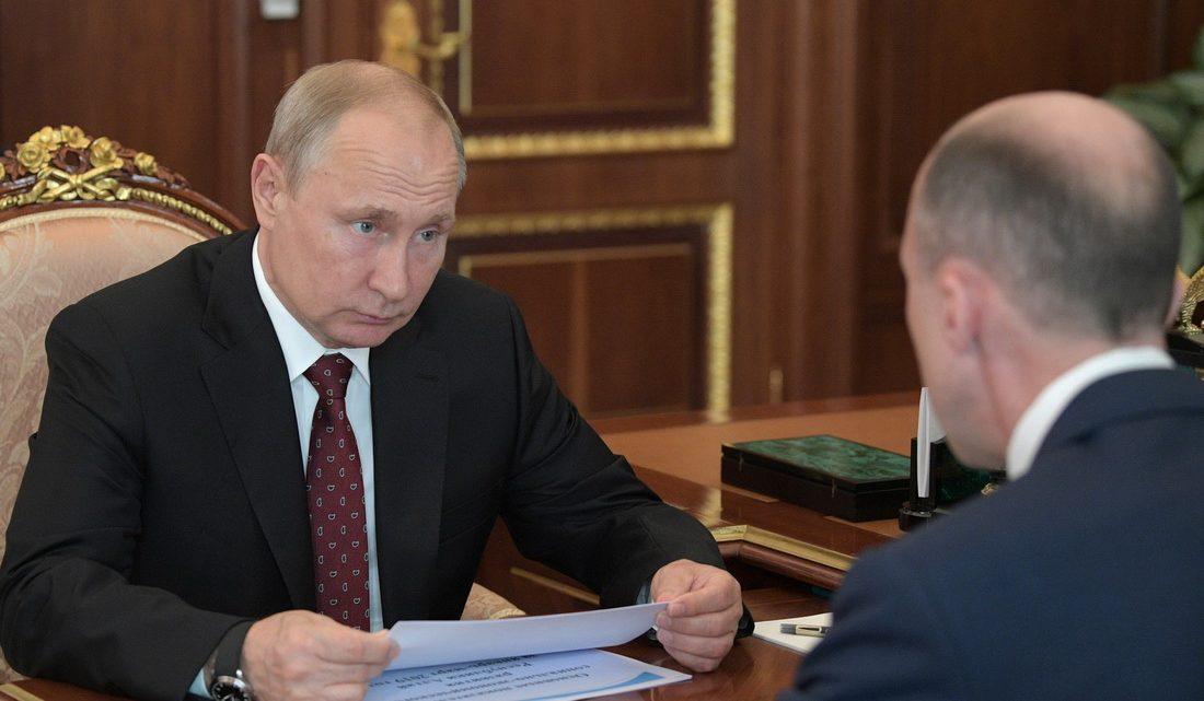 Владимир Путин провёл рабочую встречу с Олегом Хорохординым