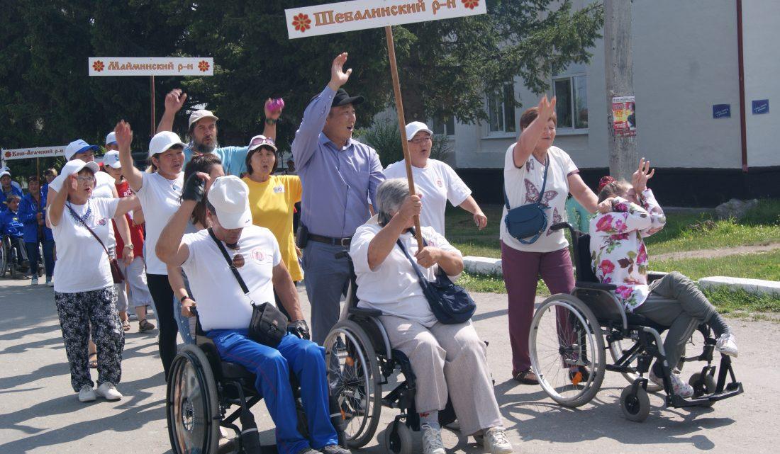 Парафестиваль «Мы раскрываем крылья!» прошел в Усть-Коксинском районе