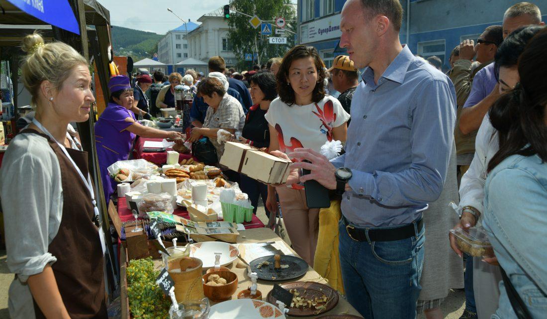 Первый гастрономический фестиваль состоялся в Горном Алтае