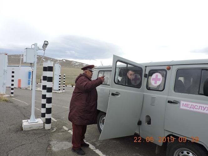 Более 30 тысяч граждан осмотрели сотрудники Роспотребнадзора в 2019 году на границе с Монголией