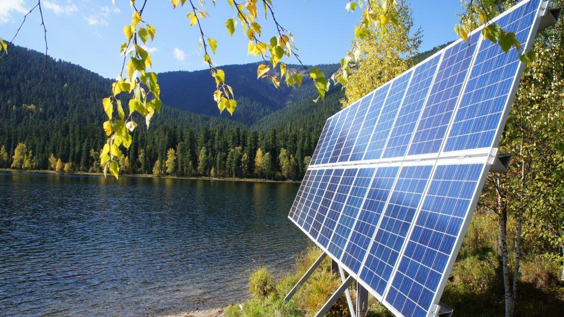 Солнечный свет от «Солнечной энергии»