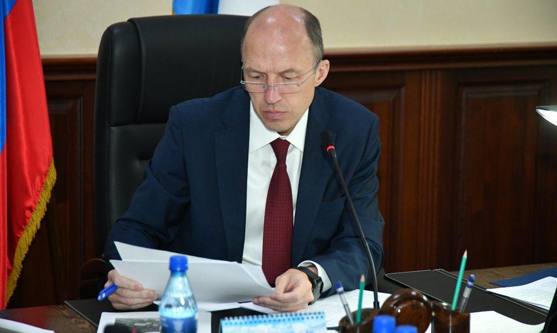 Олег Хорохордин поручил разработать дорожную карту по реализации программы развития Республики Алтай
