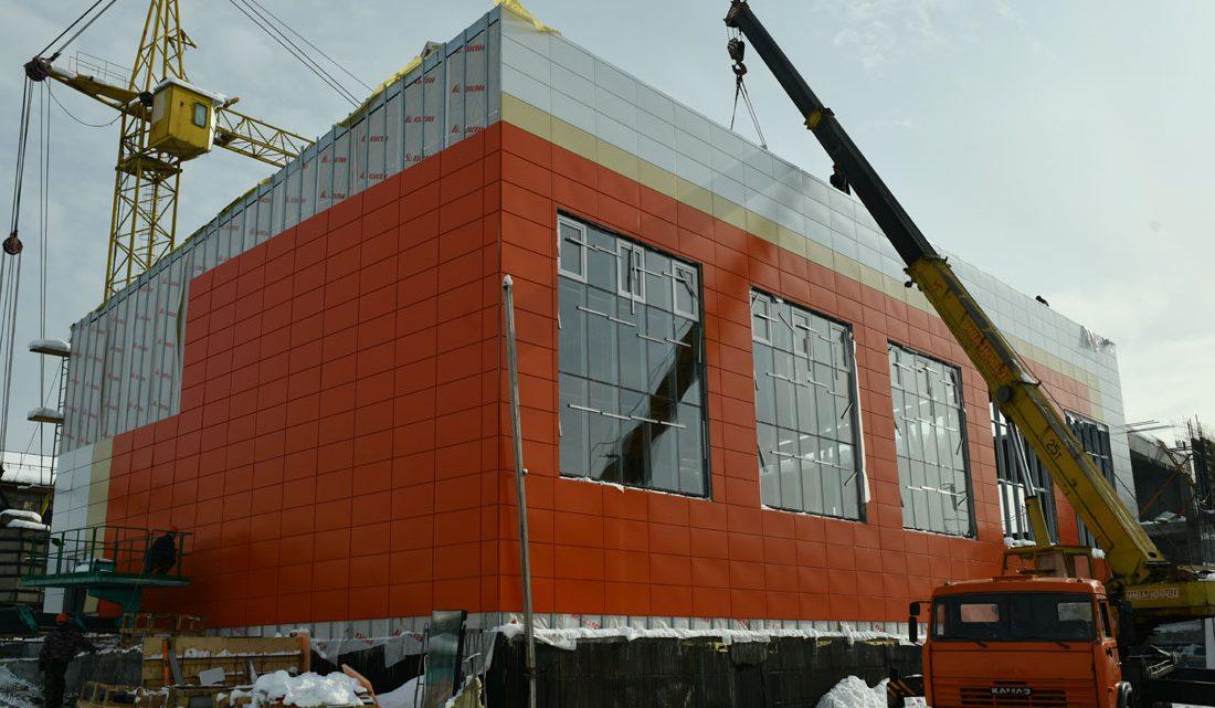 Строительство трех школ ведется в Республике Алтай в рамках нацпроекта «Образование»