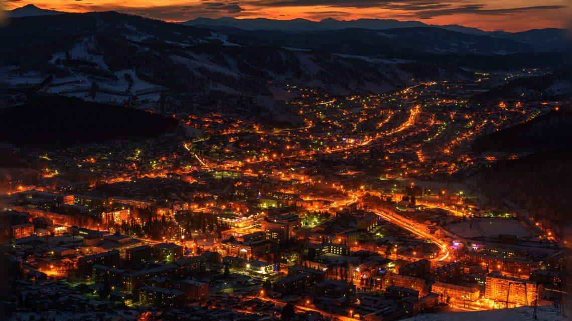 В Горно-Алтайске установят 1300 светодиодных светильников