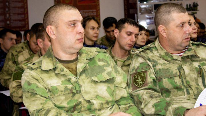 В Управлении Росгвардии по Республике Алтай проведено занятие в преддверии Международного дня борьбы с коррупцией
