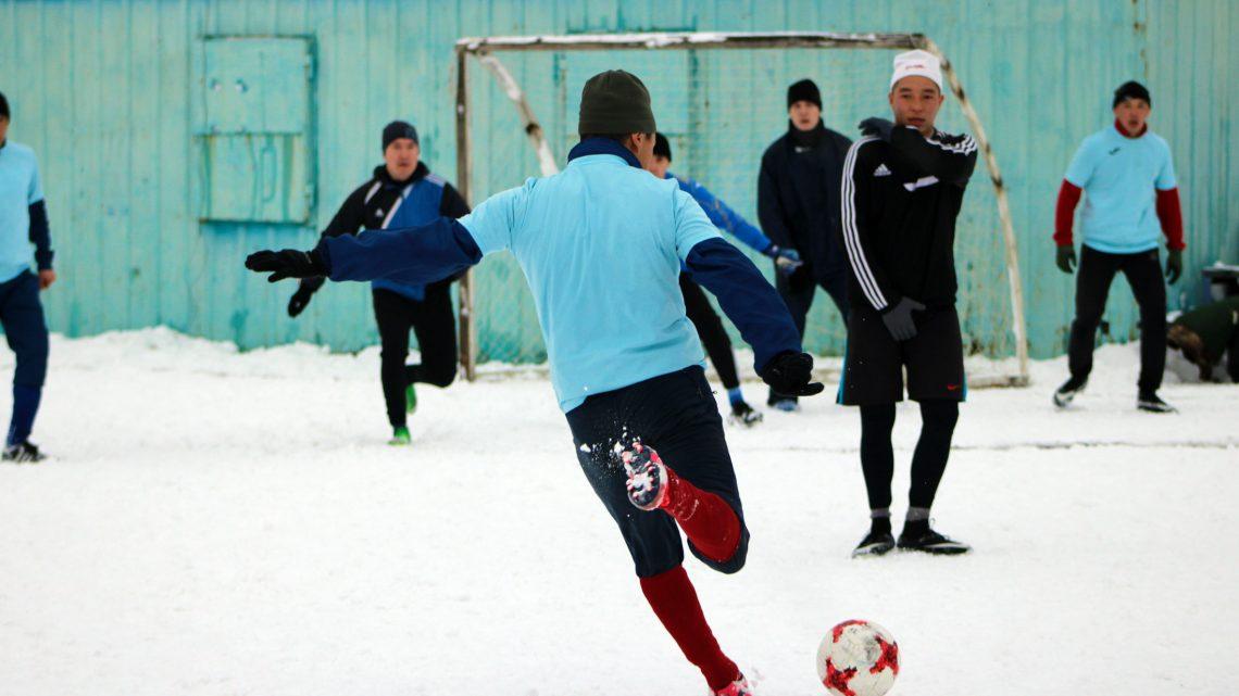 Команда ОМОН Управления Росгвардии по Республике Алтай стала победителем турнира по мини-футболу