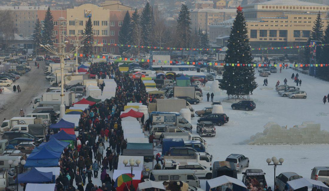 Предновогодняя ярмарка пройдет в Горно-Алтайске 21 декабря