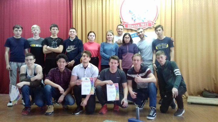 В школе №12 прошло открытое Первенство по армрестлингу