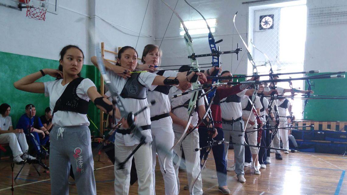 Стрелки из лука готовятся к участию в Первенстве Сибири