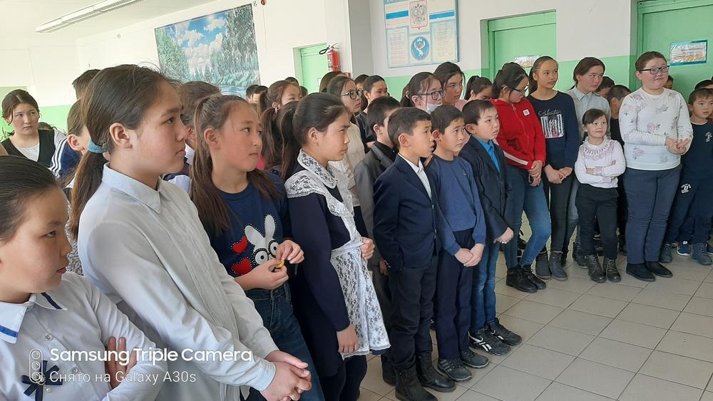 В Жана-Ауле провели музейный урок, посвященный 75-летию Победы