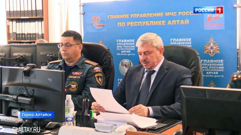 Власти Республики Алтай доложили о готовности региона к паводку