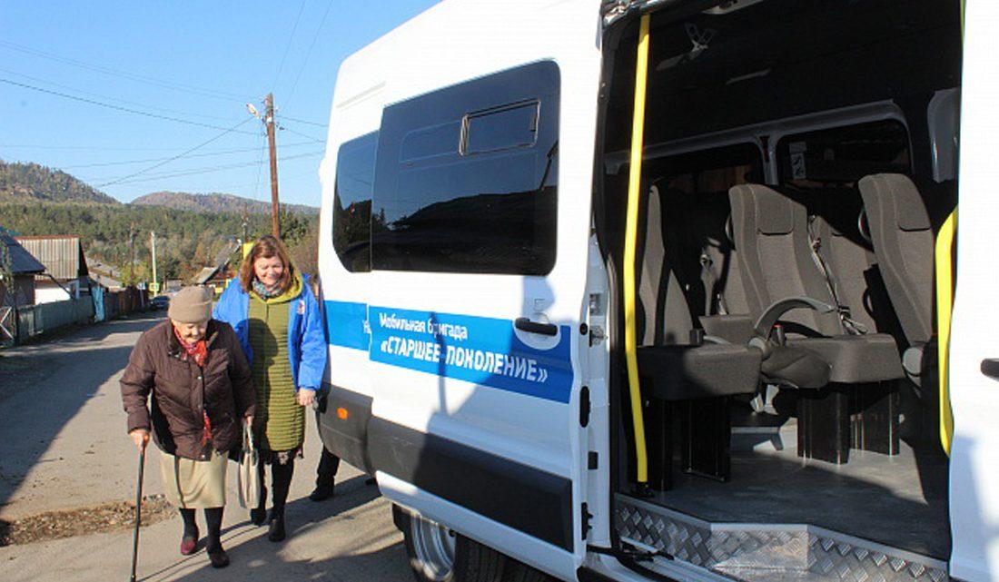 В Республике Алтай созданы мобильные бригады для оказания медпомощи пожилым гражданам