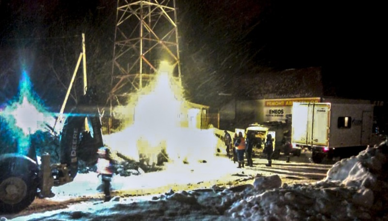 В Майме восстановили газопровод после повреждения