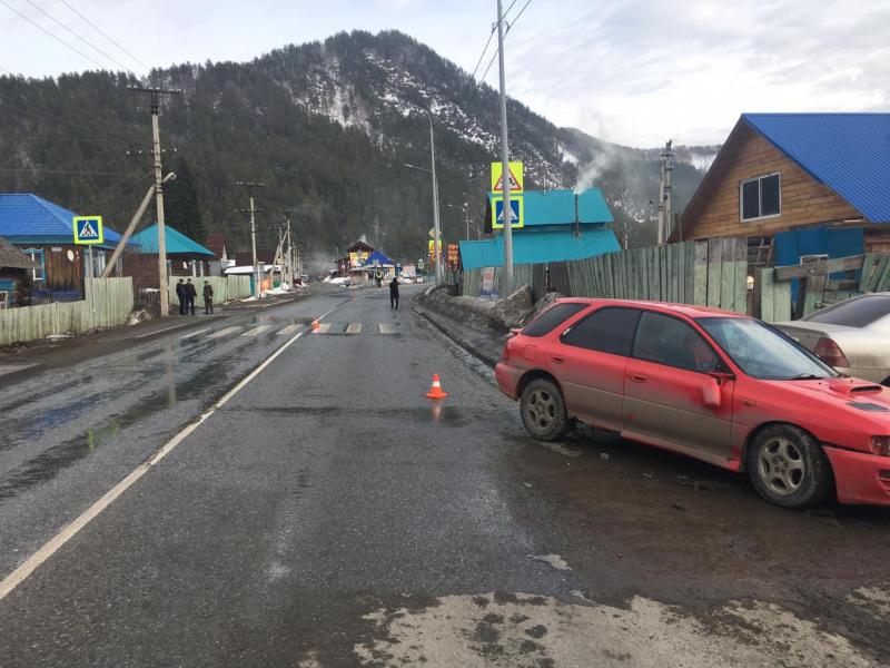 Трезвый водитель сбил двух школьниц на «зебре» в Республике Алтай