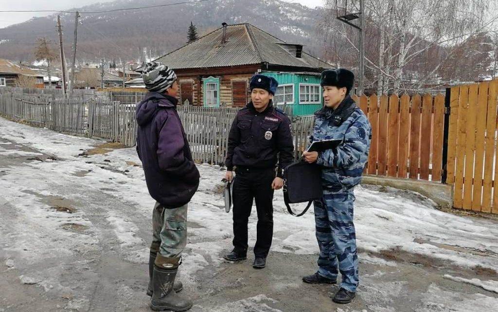 Сотрудники ОФСИН проверили условно осужденных в Республике Алтай