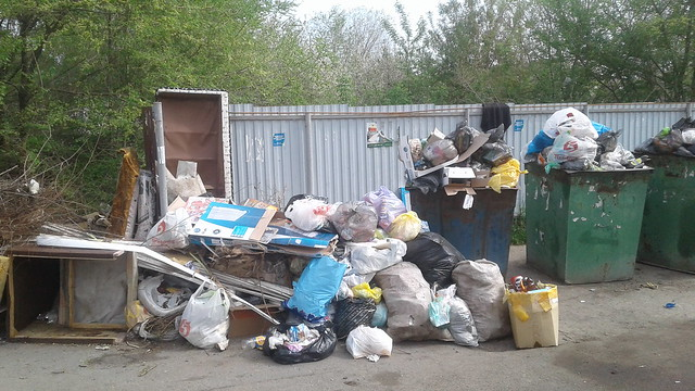 Регоператор вывез мусор из Алферово после вмешательства прокуратуры